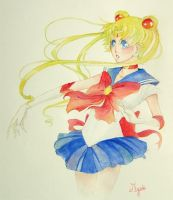 Sailor moon for MutsukoChan by Myrrie