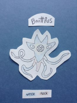 FAKEMON Brittlus Pokemon brittle star by NinoXD95