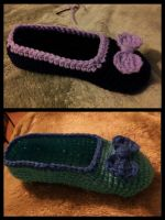 Slippers Again - Another View by MathCrazy