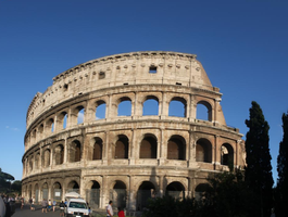 the colosseum by WeaselTea