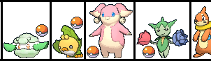 Emily Venzor's Pokemon for CubieJewelArt by ChipmunkRaccoon2