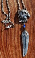 Ravenclaw Necklace by kittykat01