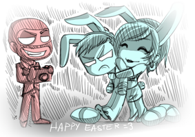 TF2: Happy Easter by DarkLitria