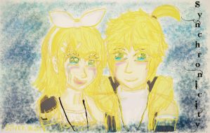 Rin and Len Kagamine-Synchronicity by Silver-chan2000