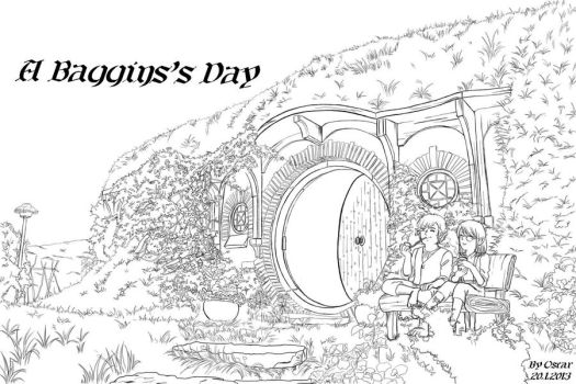 A Baggins Day by Lad1991