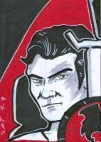 Sketch Card Mirror Kirk by stourangeau