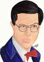 Stephen Colbert by GoodRejects