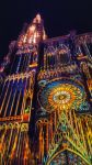 Cathdrale de Strasbourg by night, France by Poisoned-Pleasure