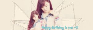 Happy Birthday To Me =))) by julietshimji