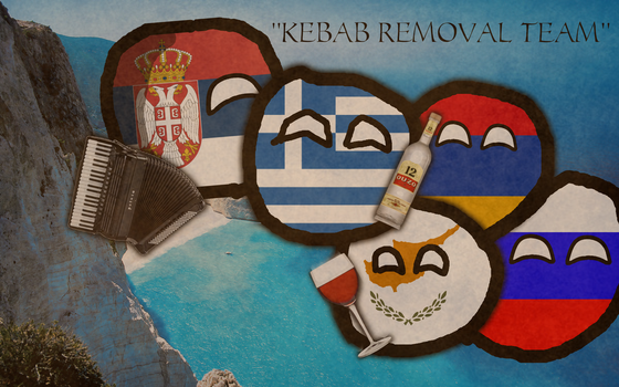 Kebab removal team 2016 by Siberiaball