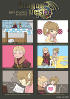 Dragon Nest Mini Comics: I Loved You Part 1 by Merlewae