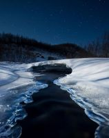Ice River... by uberfischer
