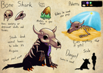 Espial World Design Challenge: Bone Shark by Lazy-a-Ile