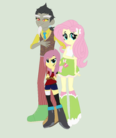 .:The Chaotic Family (EQG Version):. by XxThe-Broken-AngelxX