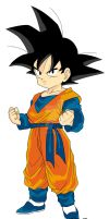 Son Goten by celesten