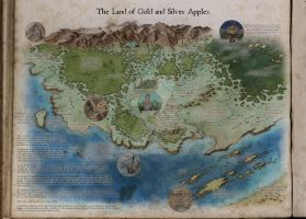 Land of Gold and Silver Apples (2014) by GLangGould