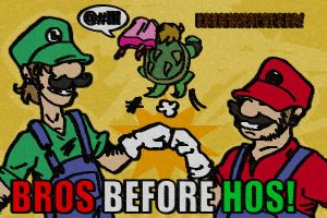 SMB: Bros before Hos by Homosorcerer