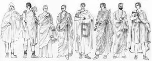 ANCIENT ROME - Fashion History Study by FashionARTventures