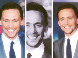 Hiddles at the Avengers Premiere - photoset by criminal-who