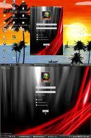 Black Vista Skin 2.0 Msn 8.5 by ggsgabriel1