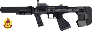 ODSP: Silenced-SMG vector by Shadowpredator100