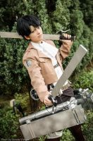 Levi from Shingeki no Kyojin by Zakane