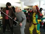 FrostCon 2013-Austin Powers/X-Men Crossover? by Minosayia