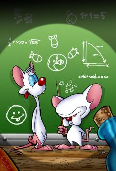 Pinky and the brain by themico