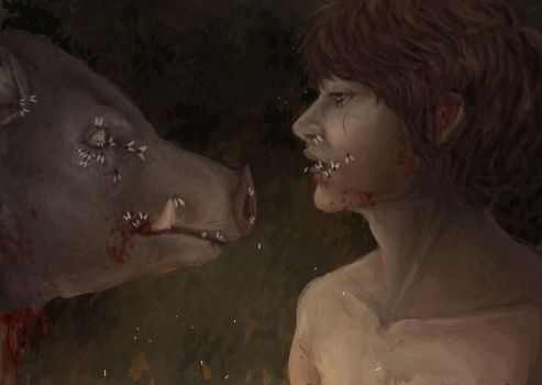 Lord of the Flies by Mourphine