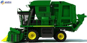 John Deere 7760 Cotton Picker by Gandoza