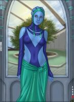 Liara dress by zakuman