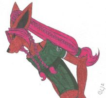 anysia is a jackal by bornbruised