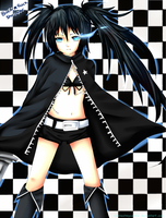 Black Rock Shooter by GreenTea-Ice