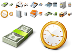 Free Business Desktop Icons by Ikonod