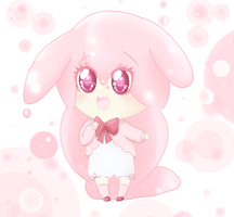 Jelly Bunny ADOPTABLE ! by LunarCandy