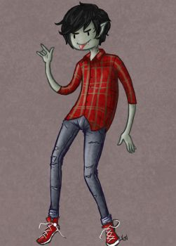 Marshall Lee by neonowls