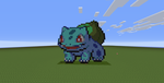 ~~Bulbasaur~~Pokemon Pixel Art~~ by InkBlot2014