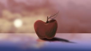 Apple at Sunset by Trish2