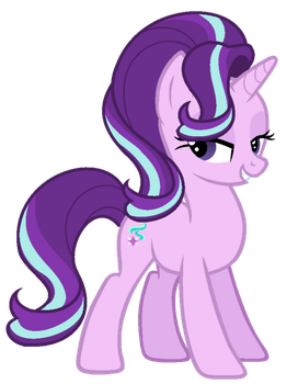 Starlight Glimmer (vector) by geovanaalmeida327