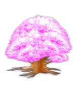 Cotton candy tree - Concept Art by DJgame42