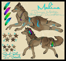 Mahina: Reference Sheet by Deazea
