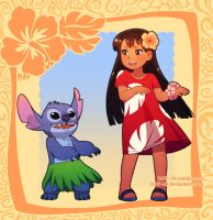 Lilo and Stitch by DAV-19