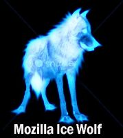 Mozilla Ice Wolf by Bootz101