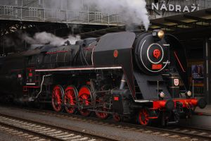 Steam locomotive 475.179 #2 by DusanPavlicek