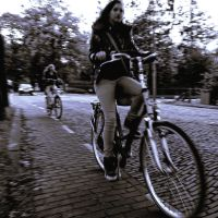 Ghostly bikes ... by Smaragd01