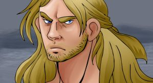 angry thor by theperfectbromance