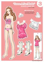 Momoko Paper Doll~ Love A La Mode by siyilin