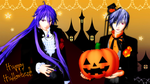 Gakupo Vampire ver and Halloween kaito DL by hzeo