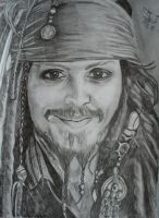 Capt'n Jack Sparrow, Luv by peachy-pebbles
