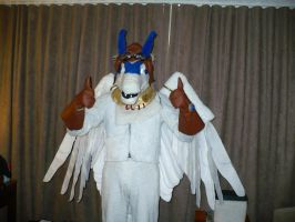 Shiron at Anthrocon by benzene66